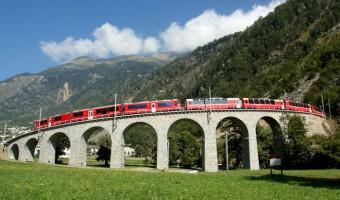 Rhaetische Bahn: Bernina Express - Valposchiavo